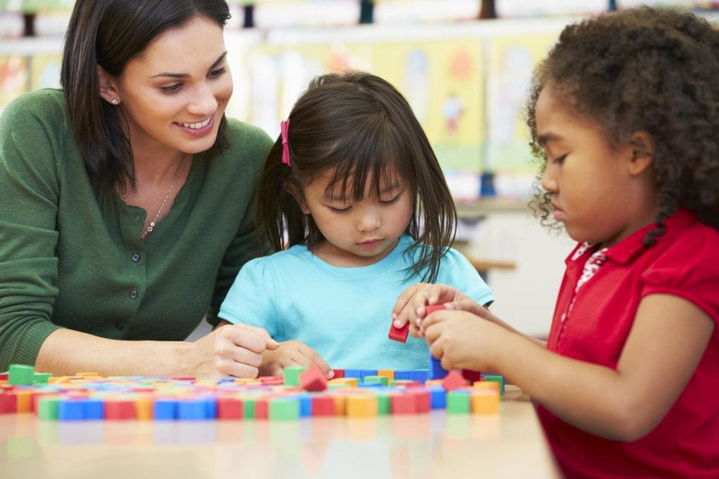 Hands-on activities (such as patterns, measurements and shapes) are important for developing your child into an abstract thinker.