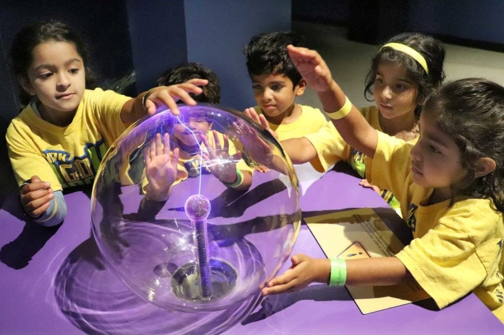 Camp curriculum implements experiments at the Science Museum