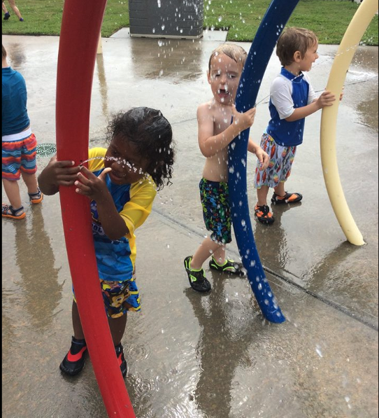 We love our Splash Park!