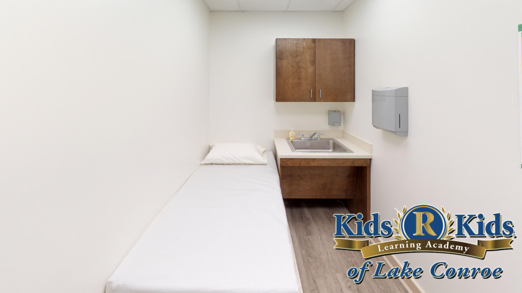 "Our ""Boo Boo Room"" is fit to assure your child can have a place to unwind and regroup."