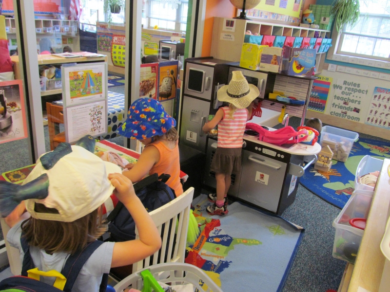 We love to learn while we play!