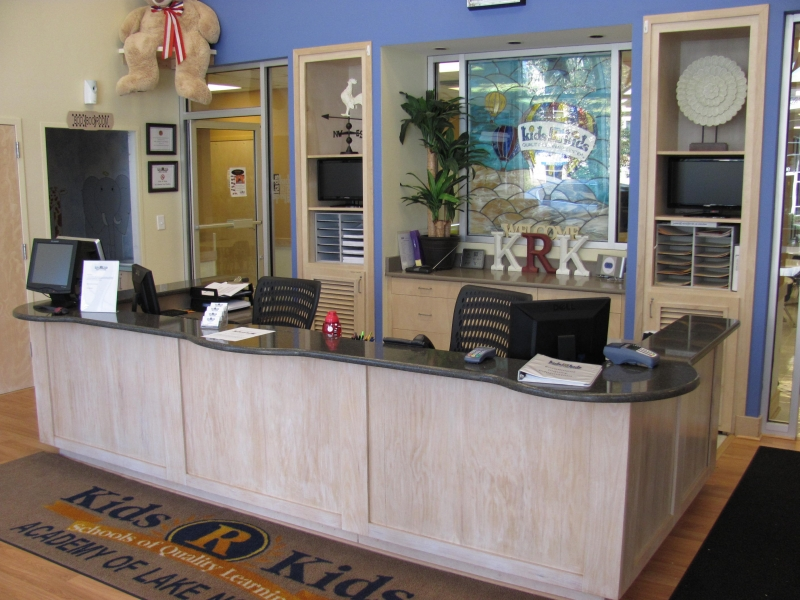 Come check out our lobby! We love to meet guest and and our families here are the front desk!