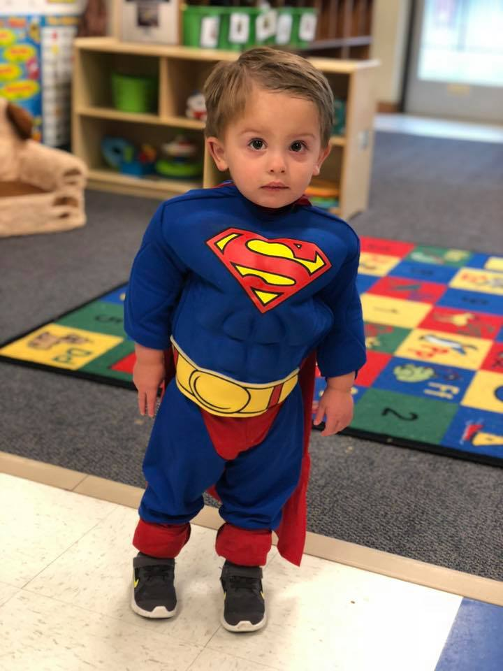 With a little love and encouragement, our students feel like superheroes every day!