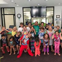 Pajama day is a great way to kick off our Summer Camp!