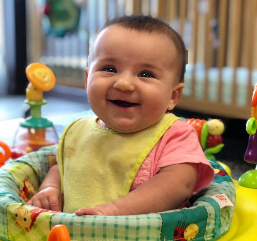 All smiles in our Infant Program!