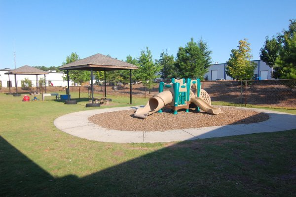 Our playgrounds are age appropriate and offer lots of creative play options.