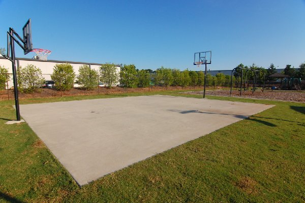 Our Multi Sport Court gives our students lots of options for outdoor play.