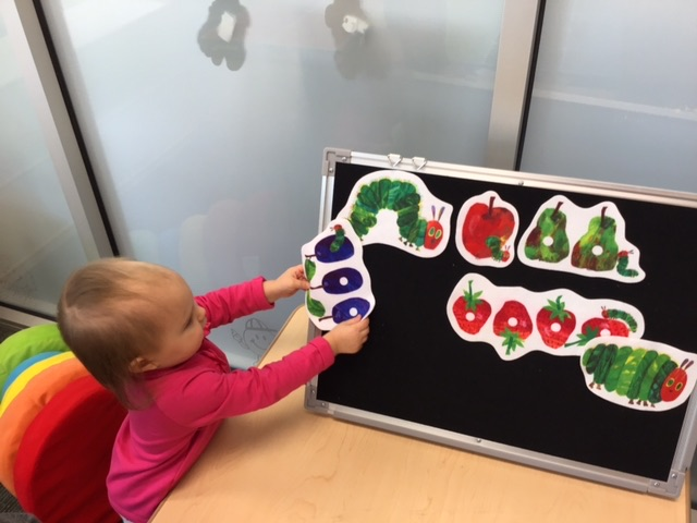 Our Toddler Program engaging in activities