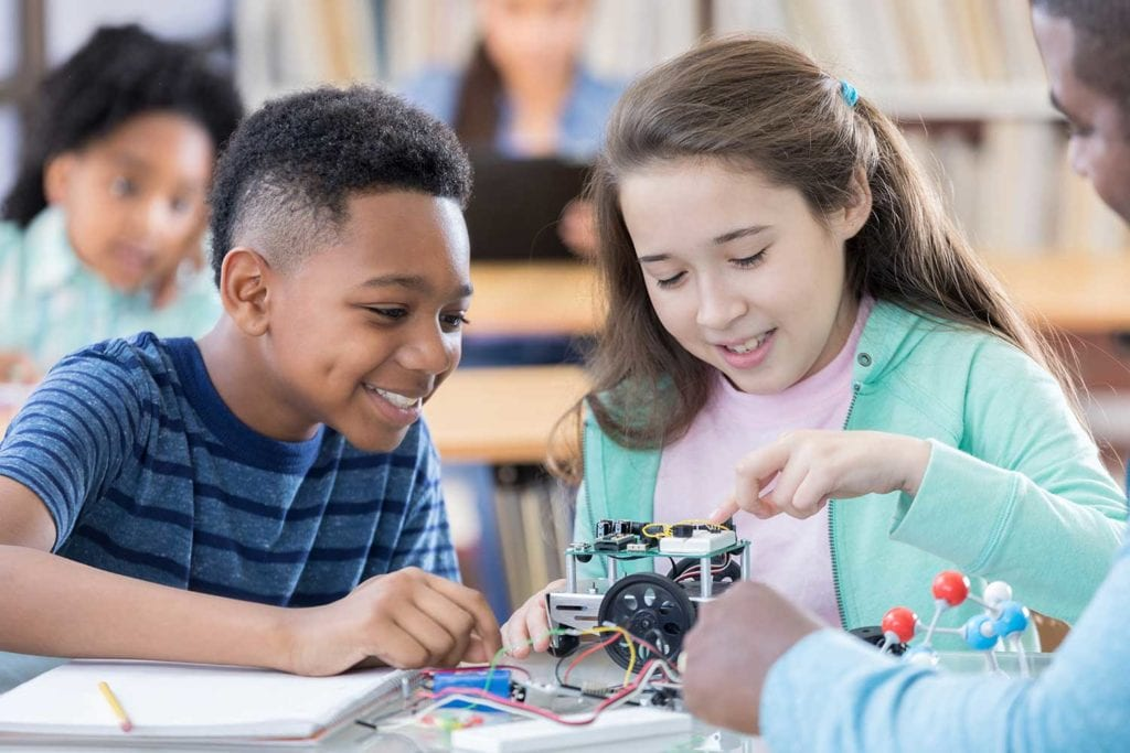 Engaging activities thoughtfully engineered to encourage innovation, collaboration and imagination.