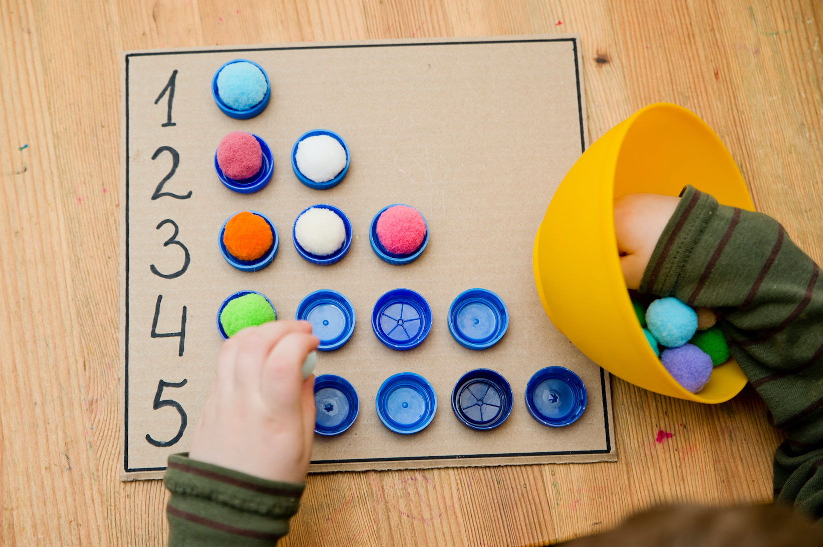 Fun Math Activities for Preschoolers at Kids 'R' Kids Waterside, preschool, daycare, childcare