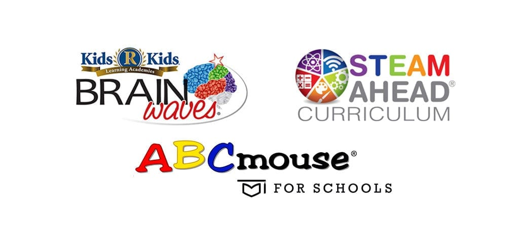 Brain Waves, STEAM Ahead and ABCmouse_LOGOS